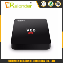 Multi-language RK3229 Quad core TV box 2.4G WIFI 4K android tv box