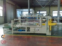 GIGA LXPM-307 Semi-automatic Carton Glue Machine corrugated carton box stapling machine