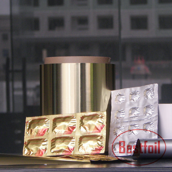 Strip Aluminium Foil For Pharmaceutical Packaging Use