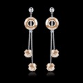 Fancy Austrian Crystal Earrings For Party Girls , Fashion Earring Designs New Model Women Earrings