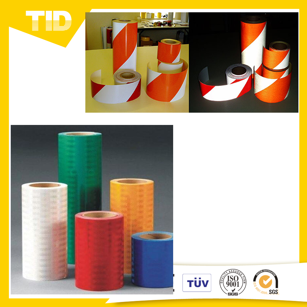 5cmx45.7m 3M Reflective Sheeting For Road Sign/3M Glue PET Reflective Material