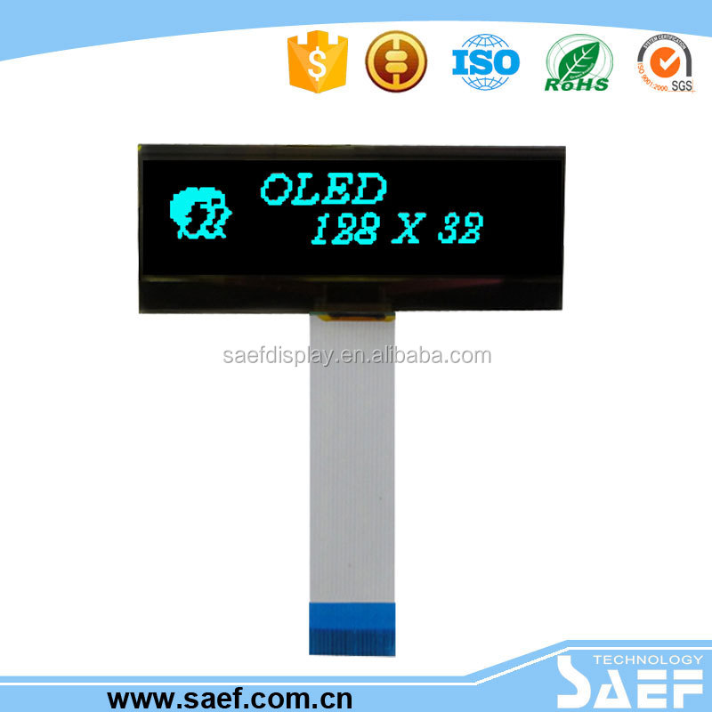 Graphic lcd display 2.05 inch 128x32 oled tft lcd display