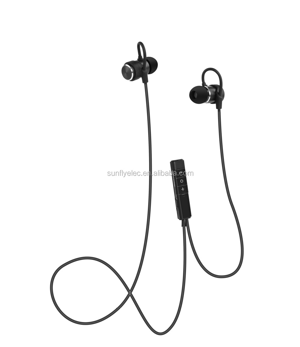Universal ear headphone for iPhone Samsung LG Tone Ultra wireless with deep bass