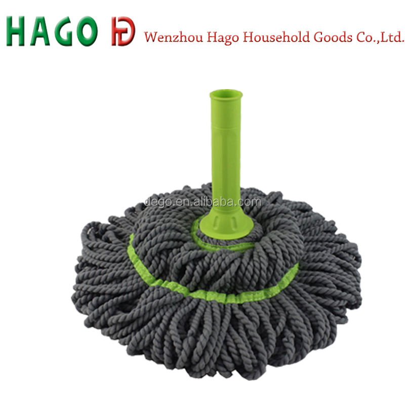 Wenzhou cangnan hot new products for 2015 household clean tool mop head floor cleaners twist mop