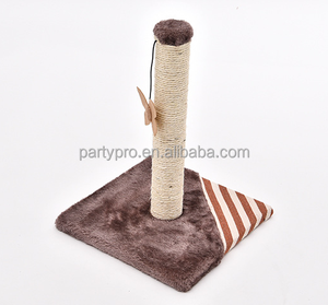 2017 new products cat tree with toys ,hot sale cat scratcher