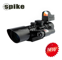 SPIKE 3-10x40ER Riflescope with red dot sight/Rifle scope with Red Laser/ riflescopes hunting