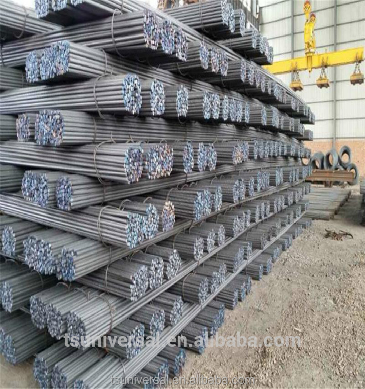 unit weight of deformed steel bars