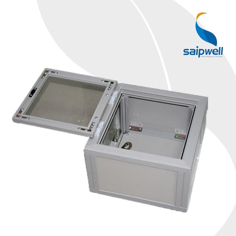 SAIP/SAIPWELL Box with Clear Cover 450*450*190 IP66 Junction Box Outdoor Waterproof Enclosures Electrical