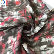 100% Polyester Printed chiffon fabric for lady's Dress, Scarf