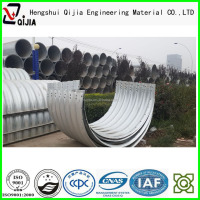 galvanized steel oil and gas pipe steel tunnel liner plates manufacture ISO 9001 product corrugated metal pipe