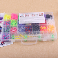 brown color rainbow bands loom cheap multi colors rainbow refill band