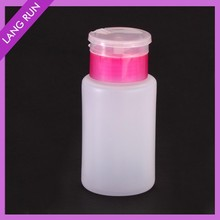 60ml HOT PET nail polish remover pump dispenser container