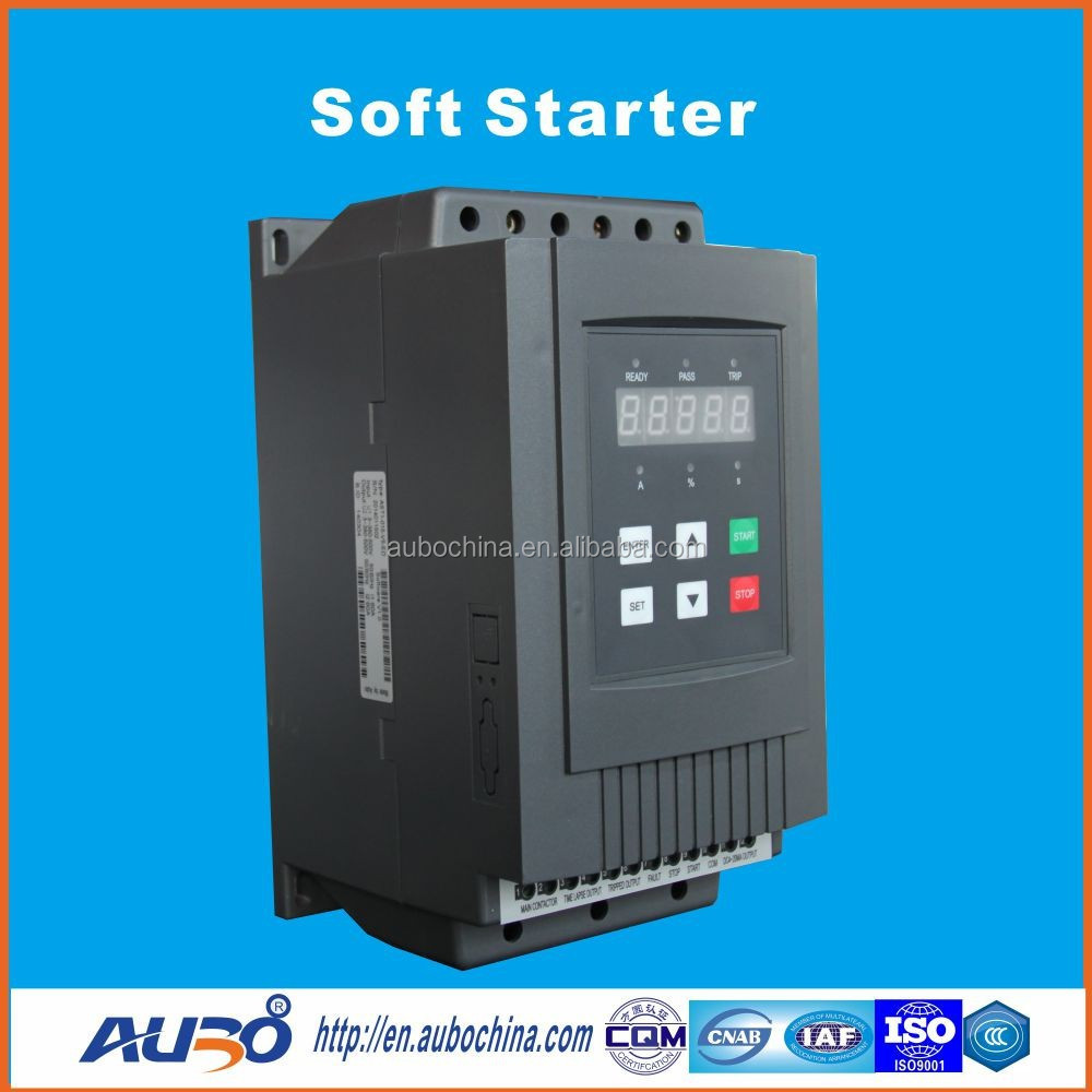 AC DC motor soft starter 380VAC three phase soft starter