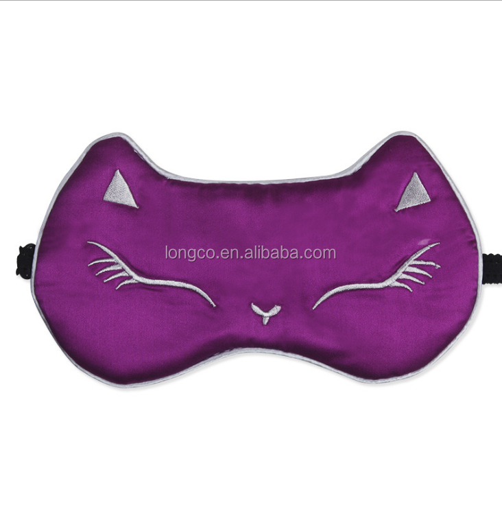 Eye Mask Sleep Soft Padded Shade Cover Rest Relax SleepingLC161227-13