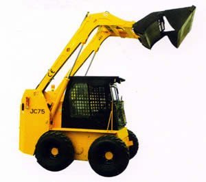 attachment of JC skid steer loader: 4in 1bucket