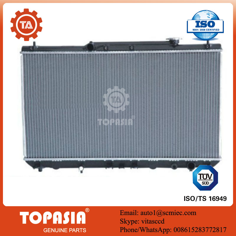 TOPASIA ALUMINUM RADIATOR USED FOR TOYOTA CAMRY OEM NO.:16400-0A240 164000A240 MT 400X738X26