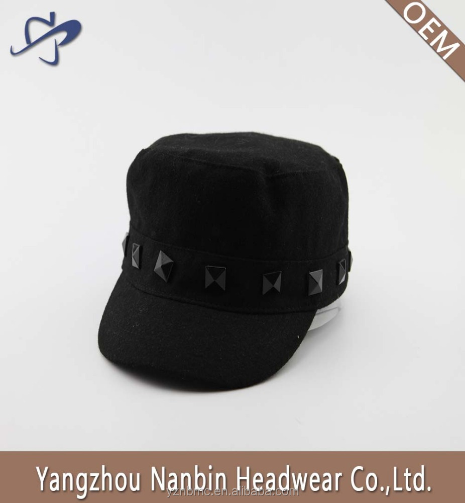 Wholesale OEM fashion high quality cheap cotton military cap army hat