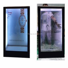 See Through AD Panel 55 Inch Transparent LCD Advertising Display