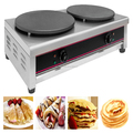 Heavy Duty Double Head Electric French Crepe Maker With CE EM-2
