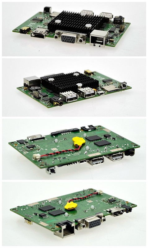 2016 Newest fanless PICO itx motherboard 105*70mm itx mainboard Z3735F 2 GB Soldered, 32G emmc SSD all in one board