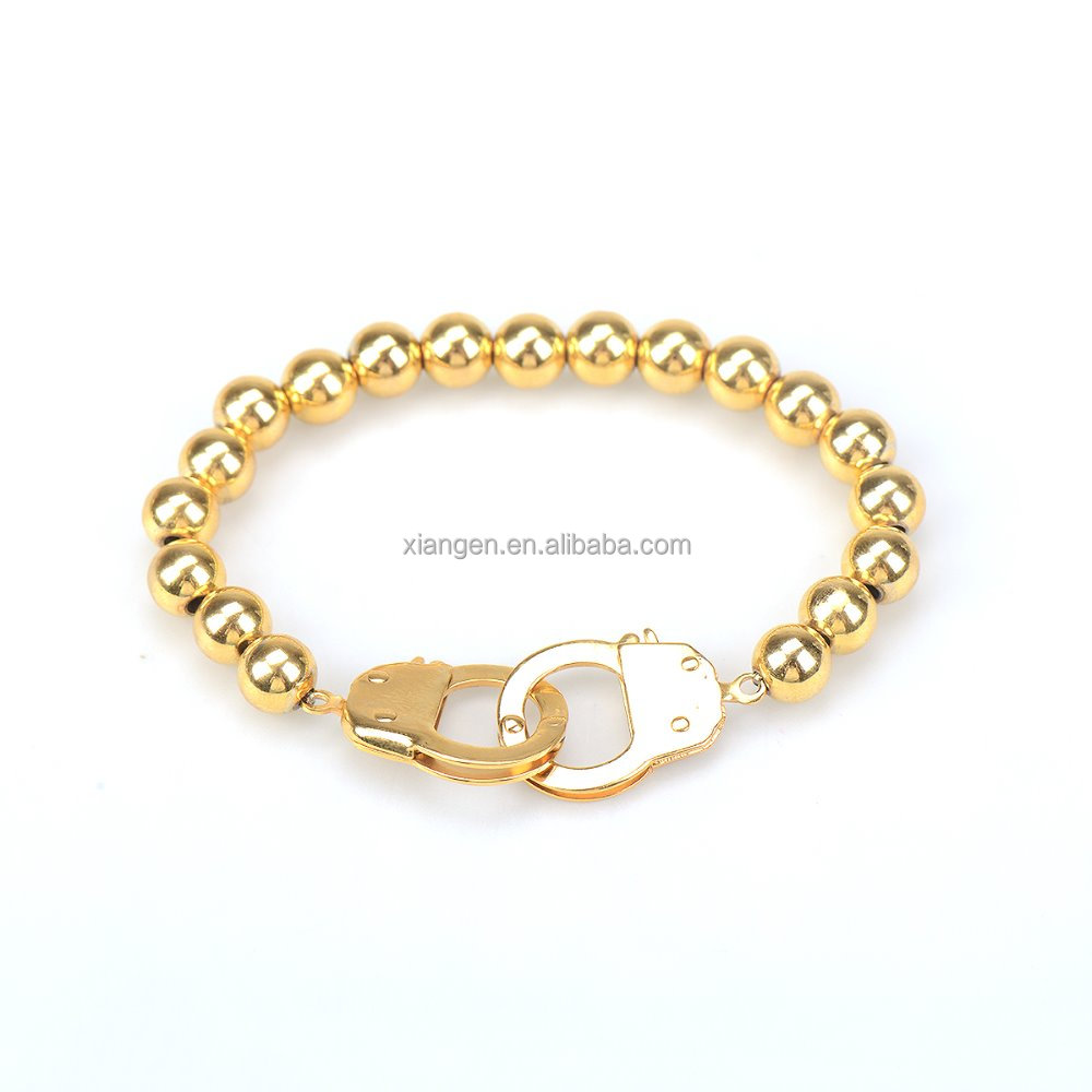 fashion bracelet gold hand chain fashion design bracelet men stainless steel dubai new gold chain design