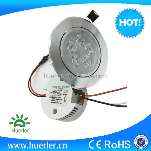 ceiling mounted emergency 5w down light led