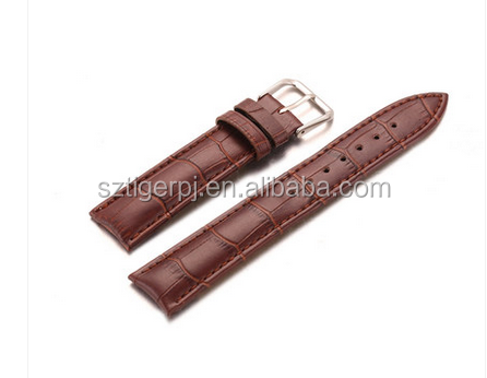 fashion style genuine leather watch strap
