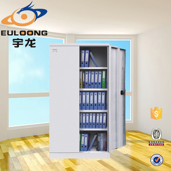 Barato muebles modulares 2 swing puerta de acero armario for Armarios modulares baratos