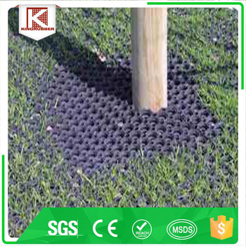 Trade Assurance Anti Slip Porous Safety Rubber Grass Mat