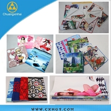 Logo Design sublimation printing polyester handkerchief