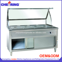 High quality food warmer trolley / kitchen equipment / hotel supply Guangzhou manufacturer