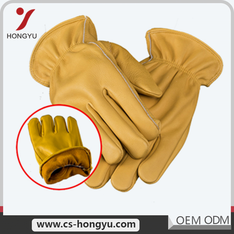 Normally size ladies motorbike masonic leather men working gloves