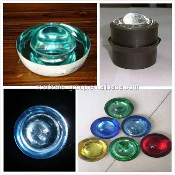 Casting aluminum road stud cat eye reflective pavement markers