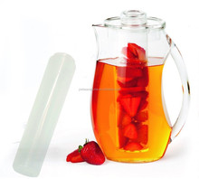 Fruit Infusion Flavor Pitcher,fruit and tea infuser pitcher,water fruit infuser pitcher innovative products 2017