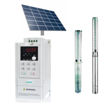 0.75KW Solar Water Pump inverter 50Hz To 60Hz 3 Phase 380V For Submersible Deep Well Pump