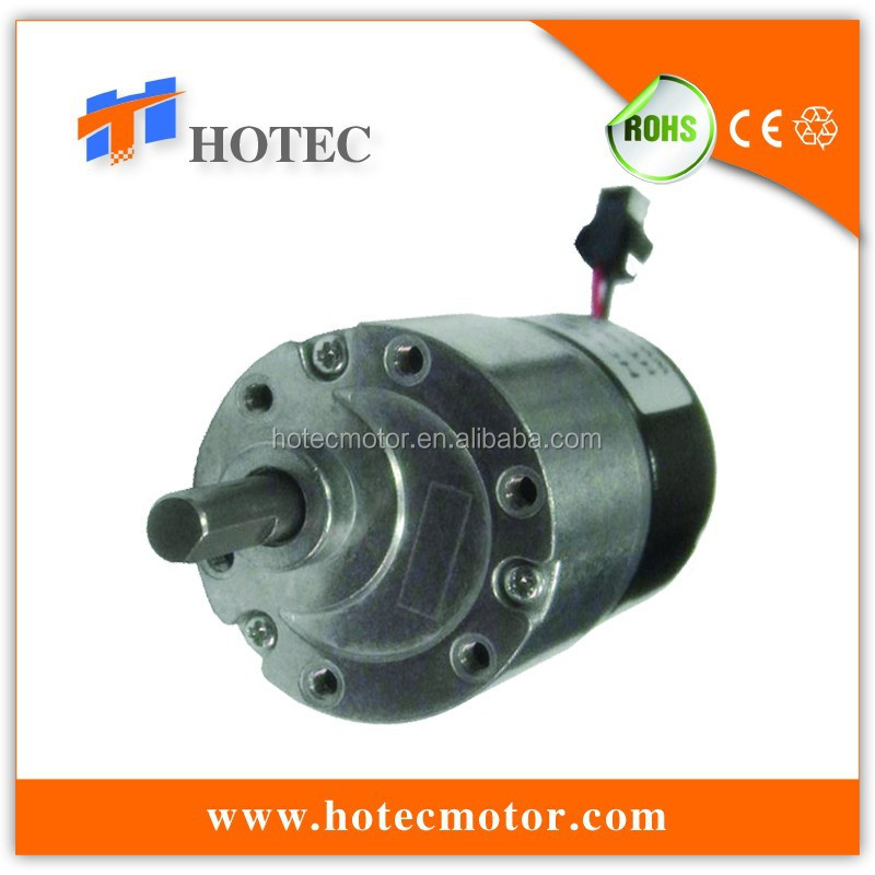 spur gear reduction 6mm shaft high torque 12v 24v 800rpm brushless dc motor
