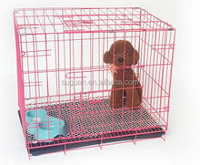 Suguan Portable metal iron wire folding pet dog cage / pet house dog kennel for cheap sale