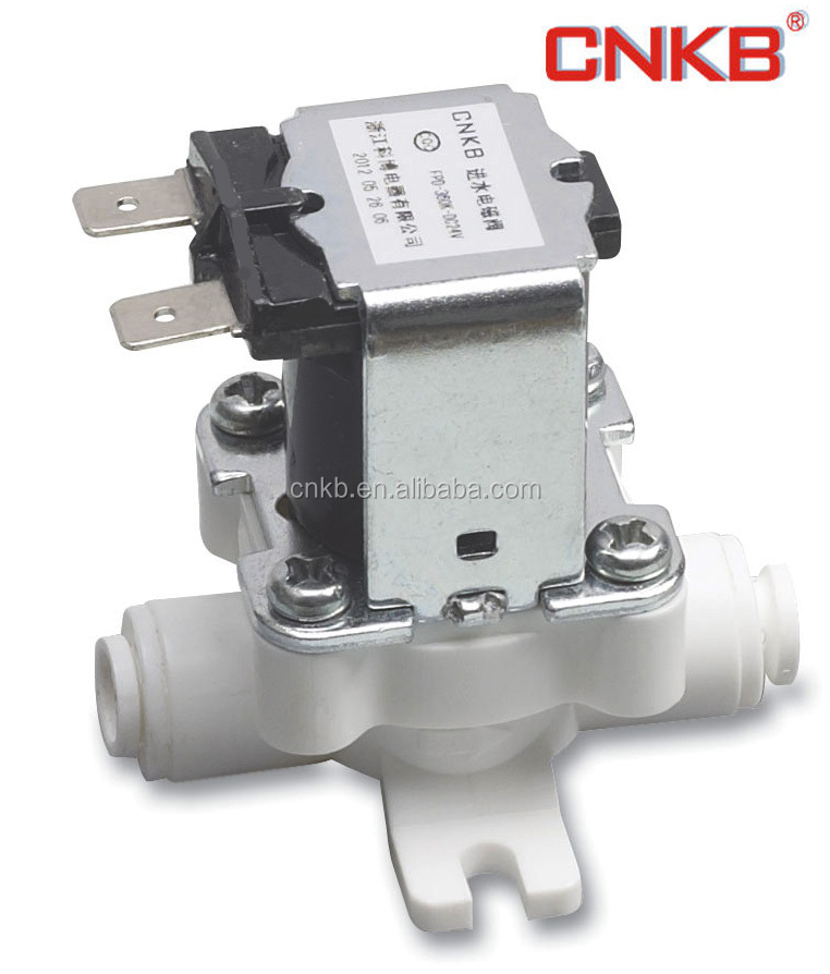 RO straight drinking machine PVC water solenoid valve