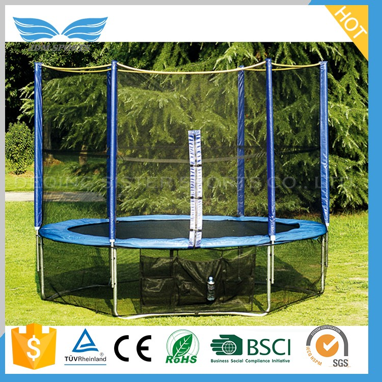 New Style Lovely Cute Deqing Supplies Fitness Folding Gym Kids Inflatable Bouncer Jumper Trampoline