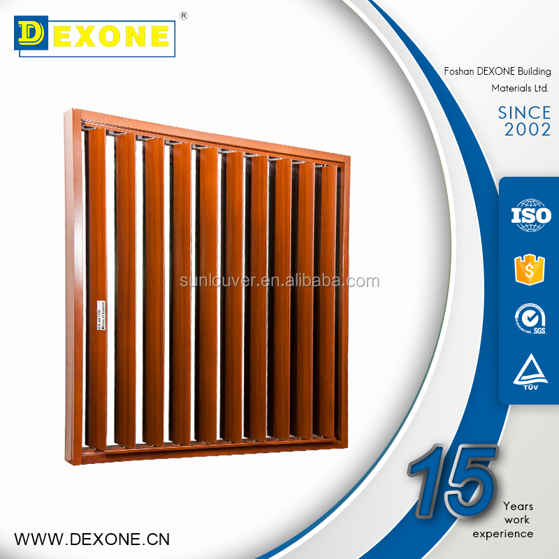 Metal Moveable adjustable louver window
