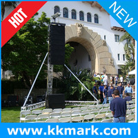 line array speaker truss stand/line array sound system/lighting truss system silver