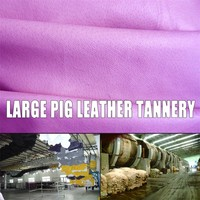 good quality Grain Shoes Lining Leather pig leather tannery leather material