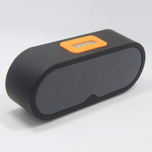new design portable wireless speaker with dual speaker super bass sound with CE, ROHS approved