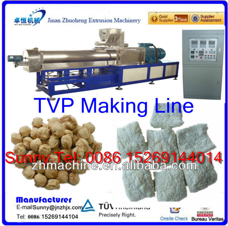 Soya Meat/Defatted Soy Protein Food Processor Machines
