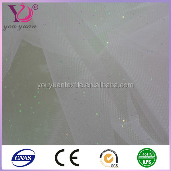 Polyester nylon mesh fabric for turkish curtains