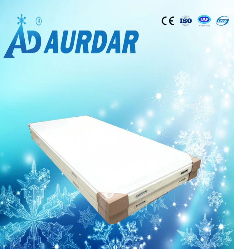 Aurdar half steel stainless plated half color steel pu panel for cold room