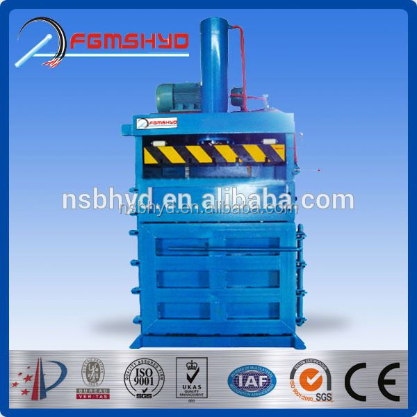 YD Plastic Recycling Machine Baler