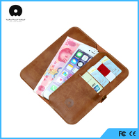 premium quality book style wallet stand holder case for iphone 6