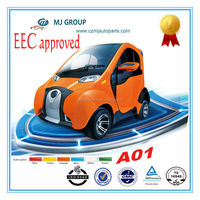 EEC approved 2014 new design 2 doors sports electric automobile cars with 2 seats for saling