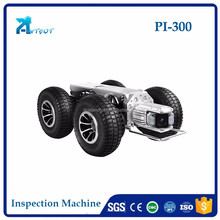 automatic self walking robotic inpsection camera for sewer pipe